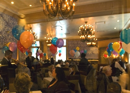 Easter jazz brunch at Commander's Palace in New Orleans, one of our Top 10 Restaurants for Easter Brunch in the U.S.