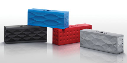 Help Dad pump up the jam with the JAMBOX by Jawbone wireless speakers
