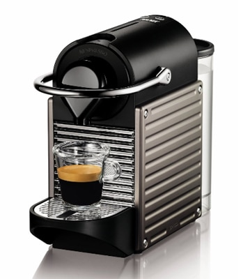 The Nespresso Pixie Espresso Maker is quick and easy-to-use
