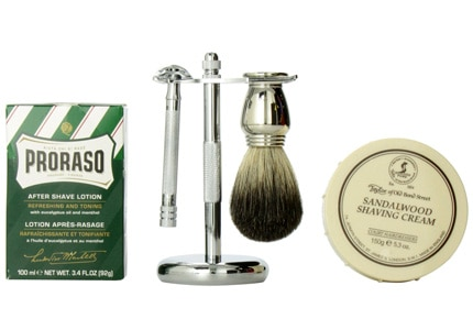 Find the best Father's Day gifts, including a classic shaving kit