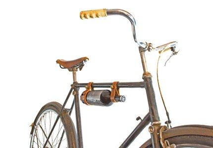 Discover unique wine gifts from our curated list such as this charming bicycle wine rack