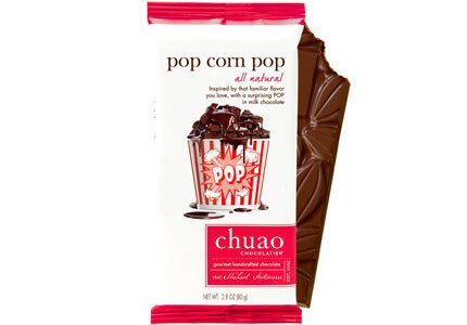 Chuao Chocolate's Pop Corn Pop Bar, one of GAYOT's Top 10 Holiday Gifts