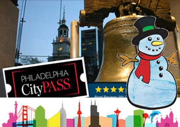 Philadelphia is one of five cities where you can take advantage of the CityPASS Winter Special