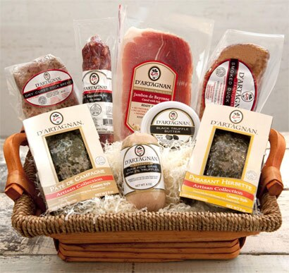 Treat your loved ones to the D'Artagnan Grande Charcuterie Gift Basket