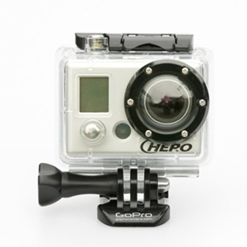 The GoPro HD Motorsports HERO camera is one of our Top 10 Holiday Gifts for 2011