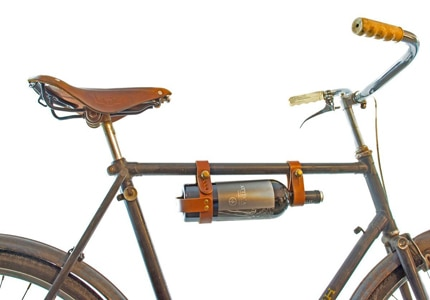 Check out GAYOT's Top 10 Wine Gifts to find the coolest gifts for the vino-lovers on your holiday list, like the Oopsmark Bicycle Wine Rack