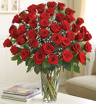 Give your mom a bouquet of Ultimate Elegance Premium Long Stem Red Roses