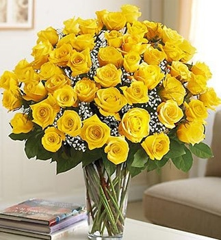 The Ultimate Elegance Long Stem Yellow Roses, one of GAYOT's Top 10 Mother's Day Gifts