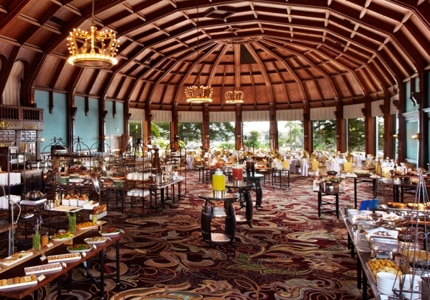 The Crown Room at the Hotel del Coronado is one of GAYOT's Top 10 Mother's Day Brunch Restaurants in the U.S.