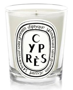 One of GAYOT's Top 10 Mother's Day Gifts, Diptque's Cypres Candle captures the Italian Cypress aroma with a spicy, woodsy blend