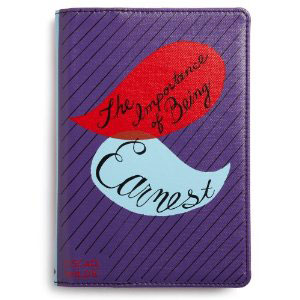 """The Importance of Being Earnest"" Kindle Cover from kate spade new york is a unique gift that features orginal artwork from their in-house design team"