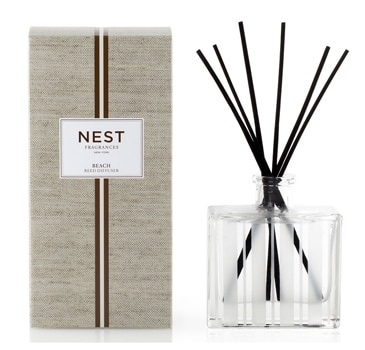 One of GAYOT's Top 10 Mother's Day Gifts, NEST Fragrances Beach Scented Reed Diffuser