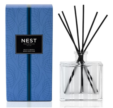 The NEST Fragrance Blue Garden Scented Reed Diffuser