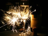 Celebrate the holidays with a sparkler