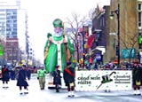 Giant replica of St. Patrick in Montreal