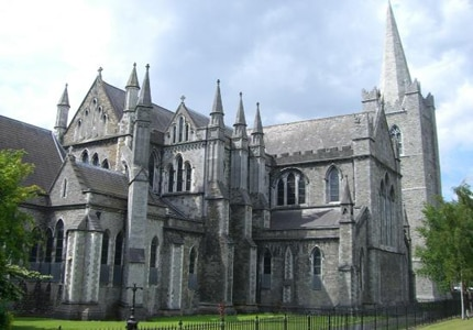 St. Patrick's Cathedral in Dublin, Ireland was founded in 1191