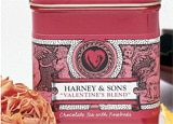 Valentine's Blend tea from Harney & Sons
