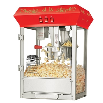 The Great Northern Popcorn Popper brings theater-style popcorn into your home