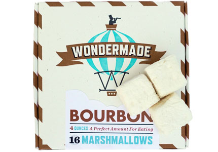 One of GAYOT's Top 10 Romantic Gifts, Wondermade's Bourbon Marshmallows are subtly infused with Maker's Mark