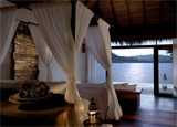 A guest room at Song Saa Private Island, Koh Rong Archipelago, Cambodia