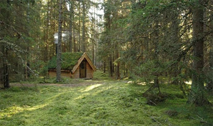 Lodging at Urnatur in Sjögetorp, Sweden