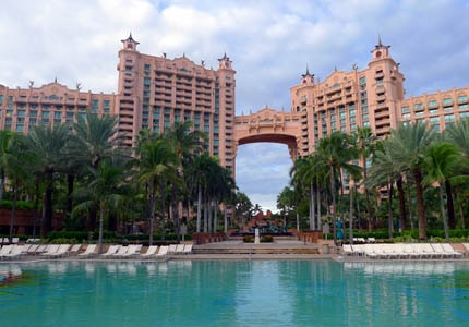 Royal Towers at Atlantis Resort on Paradise Island in the Bahamas