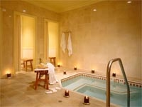 The spa at Balboa Bay Resort in Newport Beach, CA