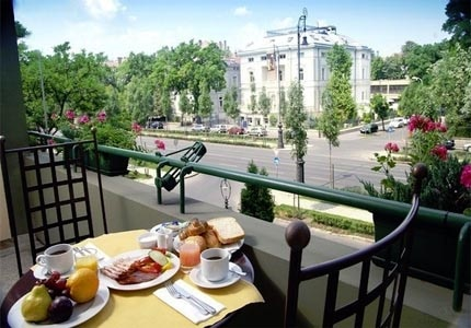 The Mamaison Andrassy Hotel, one of our Top 10 Hotels in Budapest