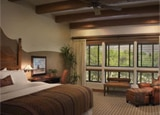 A guest room at Canyon Ranch, one of our Top 10 Golf Hotels in Tucson, Arizona
