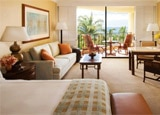 A guest room at Four Seasons Maui in Hawaii