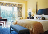 A guest room at Four Seasons Hotel Westlake Village