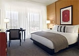 A guest room at Sofitel Los Angeles at Beverly Hills