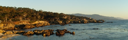 A view of Monterey's beautiful coastline
