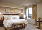 A guest room at The Ritz Carlton New York, Central Park