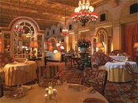 L'Escalier dining room at The Breakers in Palm Beach, Florida