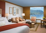 A guest room at the St. Regis Princeville Resort in Kauai