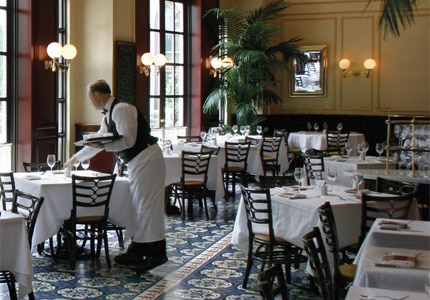 Thomas Keller's Bouchon at The Venetian is one of GAYOT's Top 10 Brunch Hotels in the U.S.