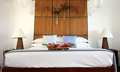 A room at Montpelier Plantation, Nevis