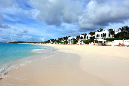 A view of Cap Juluca on Anguilla