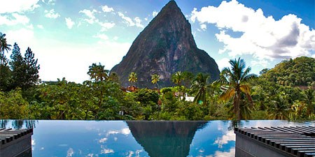 Enjoy plantation chic on St. Lucia's oldest cocoa estate at Boucan by Hotel Chocolat, one of our Top 10 Caribbean Resorts