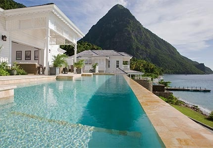 Sugar Beach, A Viceroy Resort in St. Lucia, one of GAYOT's Top 10 Caribbean Resorts