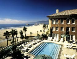 The pool at Hotel Casa del Mar in Santa Monica, California