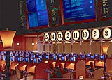 Sportsbook and Racebook room at the Bellagio