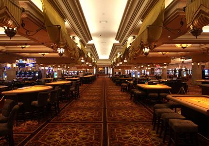 The casino at Mazagan Beach & Golf Resort in Morocco