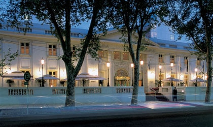 Exterior view of Park Hyatt Mendoza in Argentina
