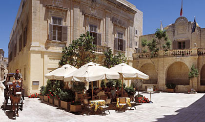 The Xara Palace in Mdina, Malta