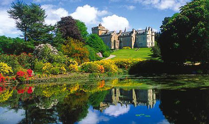 Glenapp Castle in Ayreshire, Scotland
