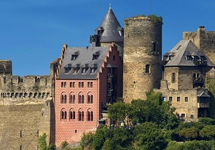 Exterior of Castle Hotel Auf Schönburg in Germany, one of GAYOT's Top 10 Castle Hotels Worldwide