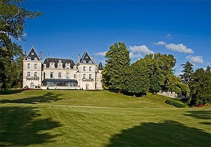 Hotel Chateau de Mirambeau in France