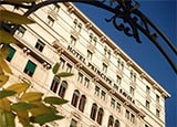 The exterior of  Hotel Principe di Savoia in Milan